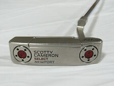 """Used RH Titleist Scotty Cameron Select Newport 35"""" Putter"""