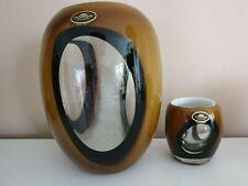 Dreamlight Mediterana Glas Design Vase Windlicht Unikat  Handmade  ca. 2 kg