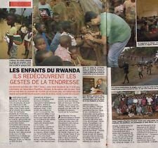 Coupure de presse Clipping 1994 Les Enfants du Rwanda (2 pages)