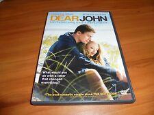 Dear John (DVD, Widescreen 2010) Channing Tatum Nicholas Sparks Used