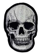 TOTENKOPF SKULL - Aufnäher Patch Aufbügler Gestickt Embroidery 10,5 x 7cm