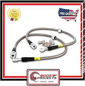 StopTech Stainless Steel Braided Front Brake Lines for Mercedes E320/E350/E500