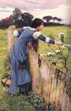 John William Waterhouse el selector JW A4 Estampado De Flores