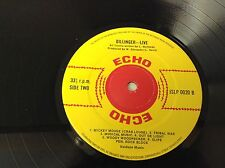 Dillinger / Clint Eastwood – Live At London Label: Echo JSLP 0020 VINYL LP