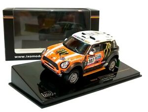 2013 MINI ALL 4 RACING #307 Movitskly Dakar Rally  - 1:43 Die-Cast Car Model IXO