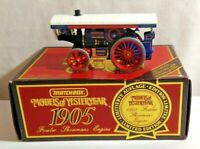 MATCHBOX MODELS OF YESTERYEAR 1905 FOWLER SHOWMANS ENGINE - Y-19 - BOXED