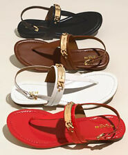 9afb1a167 Women s Flat Heel Patent Leather Sandals and Flip Flops for sale