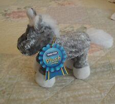 "NWT NEW Small Gray Barley Horse from BREYER PLUSH #4804 - 6"" Tall"