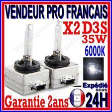2 AMPOULES D3S BI XENON 35W KIT HID LAMPE DE RECHANGE D ORIGINE FEU PHARE 6000K