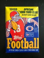 Unopened 1988 Topps Football Wax Pack