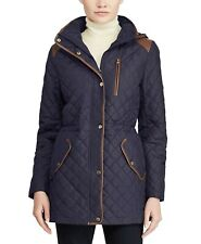 Small Ralph Lauren Quilted Hooded Anorak Coat - Navy - $245 - 100% to Charity!!!