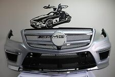 COMPLETE ASSEMBLY 13-15  Mercedes GL GL550 GL63 AMG SPORT X166 Front Bumper