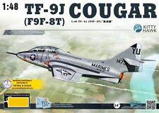 Kitty Hawk 1/48 Grumman TF-9J Cougar (F9F-8T) # 80129