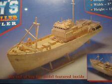 Hobby's MM21 Matchmodeller - Fishing Trawler Matchstick Model Boat Kit -T48 Post