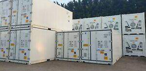 Hire  New 10ft 20ft and 40ft refrigerated containers  from £70 per week