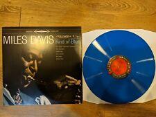 Miles Davis – Kind Of Blue blue vinyl stereo reissue
