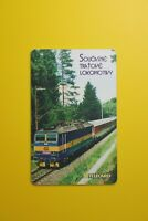 Telecom - Soucasne Tratove Lokomotivy-Collectibles Old Vintage Tele Phone Card