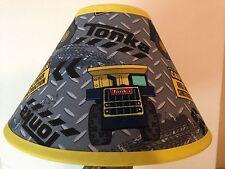 Tonka Truck Children's Fabric Lamp Shade