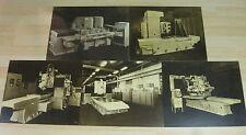 (5) RARE Vintage ROCKFORD ILLINOIS Ekstrom Carlson router lathe 24 x 20 POSTERS