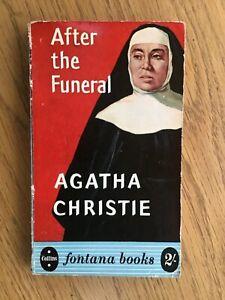 CHRISTIE, Agatha After the Funeral (Fontana Books) 1st Edition Fontana 1956 good