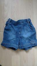 M&S denim elasticated shorts age 3-6 months