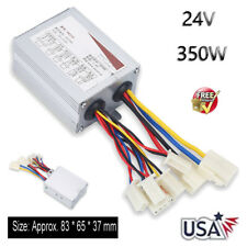 Dc 24 Volt 350 Watt Brushed Motor Controller For E Bike Scooter Electric Bicycle