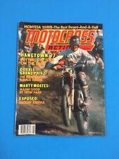 MOTOCROSS ACTION MAGAZINE MAY 1978 Czechs Belgian GP Hangtown Montesa Dirtbike