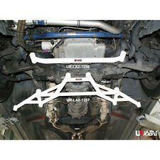 FOR 03-08 NISSAN 350Z FAIRLADY ULTRA RACING 2-PT FRONT LOWER CHASSIS FRAME BAR
