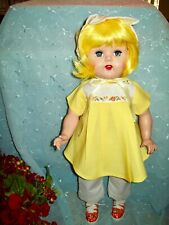 *Hard Plastic Doll~Raving Beauty?~Re-Dressed Sunshine Yellow Outfit!*