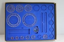 Kenners Spirograph 1970 Blue Tray Incomplete