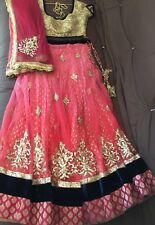 Indian Aneesh Agarwal Original Beautiful Bridal Lehenga With Heavy Embroidery