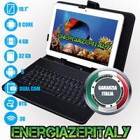 TABLET 10 POLLICI TASTIERA 3G OCTA CORE 4GB RAM 32GB ROM ANDROID 6 DUAL SIM