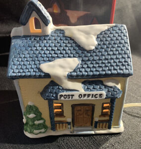 Americana Porcelain Collectable - Post Office