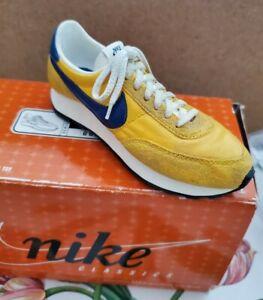 "NIKE Classics Commemorative Shoe LDV Gold/Blue BOWEN DESIGNS NIB ""vintage shoes"""