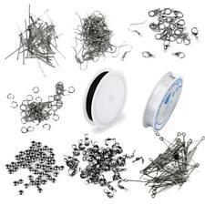 Jewellery Making Findings Kit Beading Pins, Clasps,Jump Rings,Earring Hooks