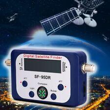 Digital Display Satellite Finder Signal Strength Meter TV Dish FTA LNB Sf95dr