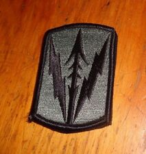ARMY PATCH, ACU,  MILITARY POLICE BRIGADE - HAWAII  WITH hook tape