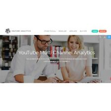 YouTube Multi Channel Analytics Website for sale Make Money Online Home Business