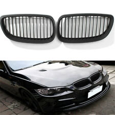 for BMW E92 E93 3 Series Coupe Cabriolet 0610 Matt Black Kidney Grill Grille