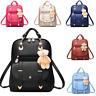 Women Leather Trendy Satchel Rucksack Girls Backpack Shoulder School Travel Bag