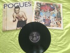 2 x LP The Pogues - Peace And Love OIS mit Texten + Hell´s Ditch Vinyl