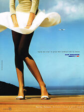 PUBLICITE ADVERTISING 045  2002  AIR FRANCE  tarif tempo