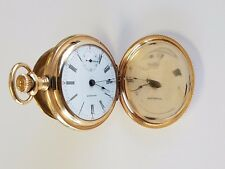 Vintage Waltham Grade 820 Pocket Watch 18 Size Hunting Case Model 1883 15 Jewel