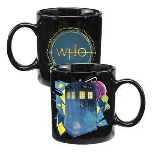 Doctor Who Series 11 Tardis Heat Reactive Ceramic Mug