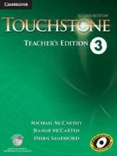 NEW - Touchstone Level 3 Teacher's Edition with Assessment Audio CD/CD-ROM