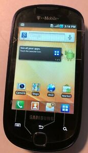 READ 1ST Samsung SGH T589 (T-Mobile) Blue Cell Phone Fast Ship MINT Test Unit