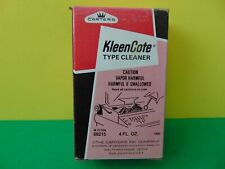 Vintage Carter's KleenCote Type Cleaner 4 FL OZ 69215 Made in USA
