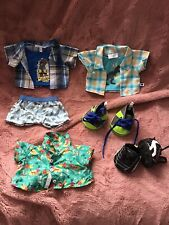 Build A Bear Boy Bundle All As New...smart Shirts Football Boots Trainers Etc