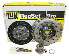 NEW! Saab CLUTCH KIT, with SLAVE CYLINDER (some 9-3, 93) LUK 6243635330 55562985