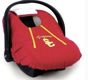NCAA Kansas Jayhawks  Cozy Cover Infant Carrier Cover